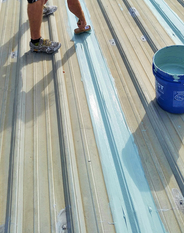 Hydro Stop Roof Coating System